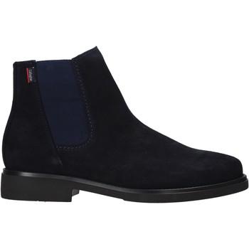 Zapatos Hombre Botas de caña baja CallagHan 44705 Azul