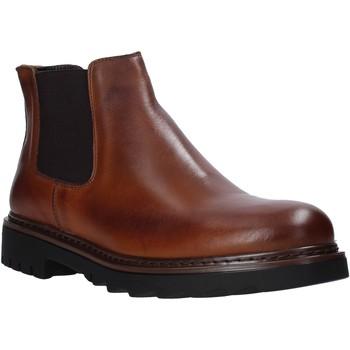 Zapatos Hombre Botas de caña baja Exton 711 Marrón