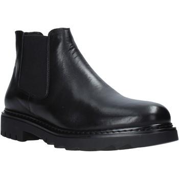Zapatos Hombre Botas de caña baja Exton 711 Negro