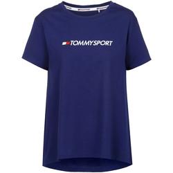 textil Mujer Camisetas manga corta Tommy Hilfiger S10S100445 Azul