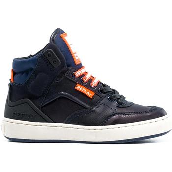Zapatos Niños Zapatillas altas Replay GBZ19 201 C0021S Azul