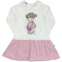 textil Niña Vestidos cortos Melby 20A0011 Blanco