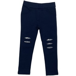 textil Niña Leggings Losan 026-6008AL Azul