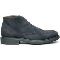 Zapatos Hombre Botas de caña baja NeroGiardini I001651U Azul