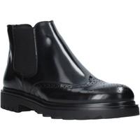 Zapatos Hombre Botas de caña baja Exton 607 Negro