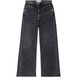 textil Mujer Vaqueros bootcut Calvin Klein Jeans J20J214004 Negro