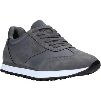 Zapatos Hombre Zapatillas bajas Rocco Barocco RB-HUGO-1701 Gris