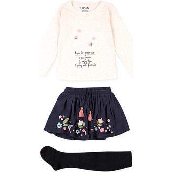 textil Niños Conjunto Losan 026-8016AL Beige