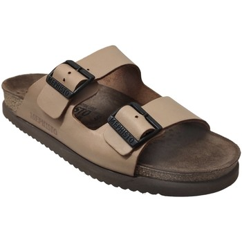 Zapatos Hombre Zuecos (Mules) Mephisto NERIO Cuero camel