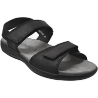 Zapatos Hombre Sandalias Mephisto SIMON Cuero negro