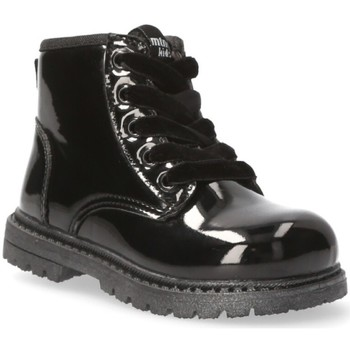Zapatos Niña Botines Mustang Kids 54218 negro