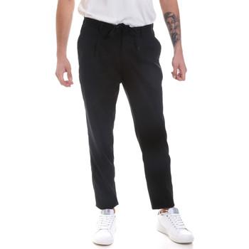 textil Hombre Pantalones chinos Antony Morato MMTR00546 FA600181 Negro
