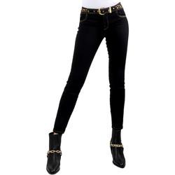 textil Mujer Vaqueros slim Versace A1HVB02HAPV4P899 Negro