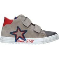 Zapatos Niños Zapatillas altas Naturino 2015394 01 Gris