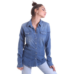 textil Mujer Camisas Fornarina BE174577D884AS Azul