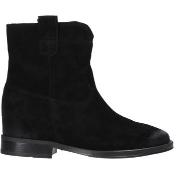 Zapatos Mujer Botas de caña baja Pregunta MAA3307 Negro