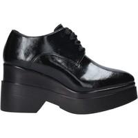 Zapatos Mujer Derbie Pregunta PAA69-M Negro