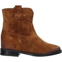 Zapatos Mujer Botas de caña baja Pregunta MAA3307 Marrón
