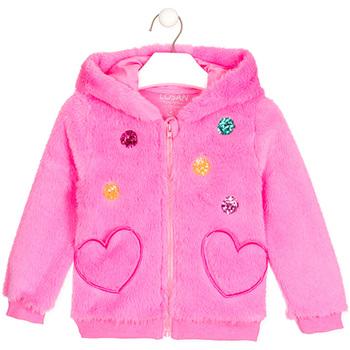 textil Niña Chaquetas de punto Losan 026-0000AL Rosado