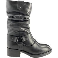 Zapatos Mujer Botas urbanas Apepazza F0BEATRIX01/LEA Negro