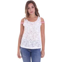 textil Mujer Tops / Blusas Fornarina BE175J89JG1309 Blanco
