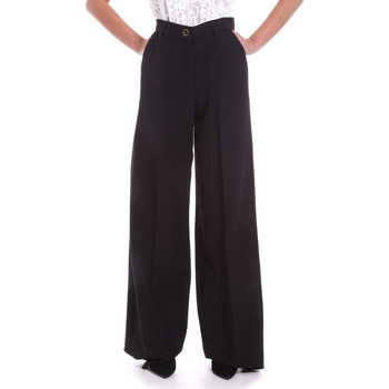 textil Mujer Pantalones fluidos Fracomina F120W10069W05301 Negro