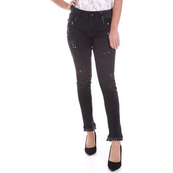 textil Mujer Vaqueros slim Fracomina F120W10002D00304 Negro