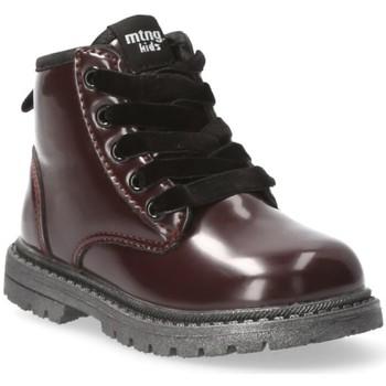 Zapatos Niña Botas de caña baja Mustang Kids 54219 rojo