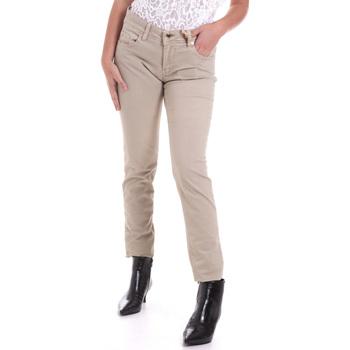 textil Mujer Pantalones con 5 bolsillos Gaudi 821BD25025 Beige