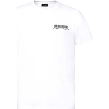 textil Hombre Camisetas manga corta Diesel A00582 0HAYU Blanco