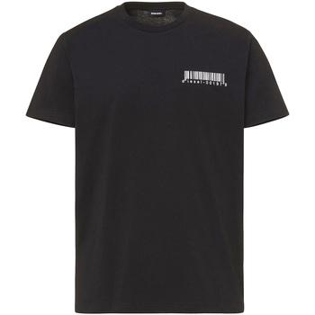 textil Hombre Camisetas manga corta Diesel A00582 0HAYU Negro