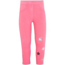textil Niña Leggings Losan 026-6015AL Rosado