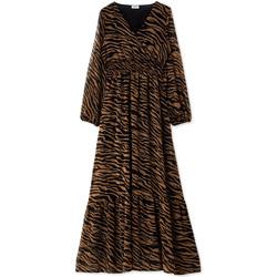 textil Mujer Vestidos largos Liu Jo WF0194 T0110 Negro