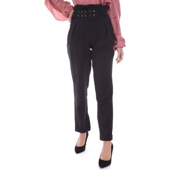 textil Mujer Pantalones chinos Gaudi 021FD25013 Negro
