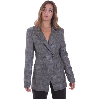 textil Mujer Chaquetas / Americana Gaudi 021FD35023 Gris