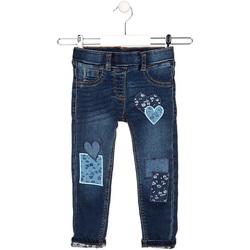 textil Niños Vaqueros rectos Losan 026-6019AL Azul