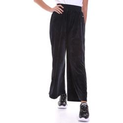 textil Mujer Pantalones fluidos Key Up 5CS54 0001 Negro
