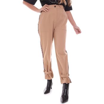 textil Mujer Pantalones chinos Gaudi 021FD25004 Beige