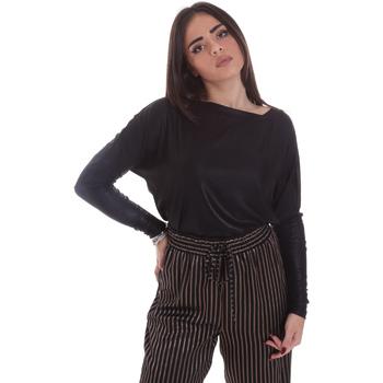 textil Mujer Camisetas manga larga Gaudi 021FD64014 Negro