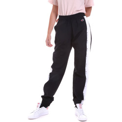 textil Mujer Pantalones de chándal Champion 113454 Negro