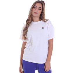 textil Mujer Camisetas manga corta Fila 682319 Blanco