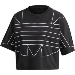 textil Mujer Camisetas manga corta adidas Originals GD2357 Negro