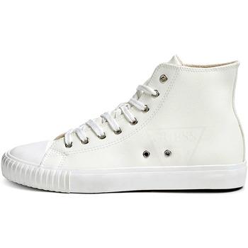 Zapatos Hombre Zapatillas altas Guess FM8NWH ELE12 Blanco
