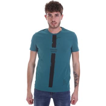textil Hombre Camisetas manga corta Gaudi 021GU64035 Verde