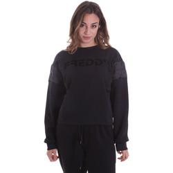 textil Mujer Sudaderas Freddy F0WTBS1 Negro