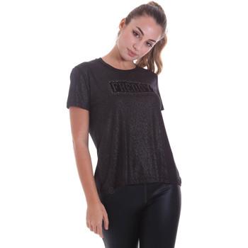 textil Mujer Camisetas manga corta Freddy F0WALT2 Negro