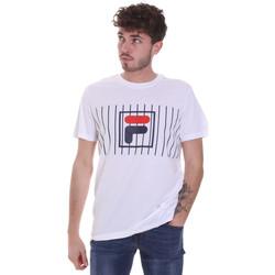 textil Hombre Camisetas manga corta Fila 687989 Blanco
