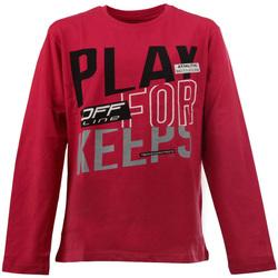 textil Niños Camisetas manga larga Losan 023-1627AL Rojo
