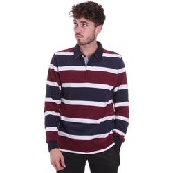 textil Hombre Polos manga larga Navigare NV30026 Rojo