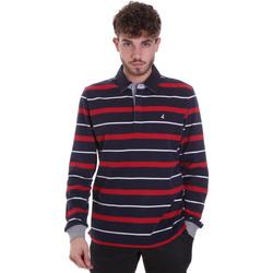 textil Hombre Polos manga larga Navigare NV30030 Azul